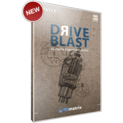Overloud Drive Blast - Expansion Library for REmatrix Convolution Reverb (Download)