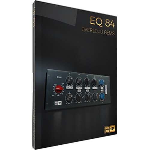 Overloud EQ84 - Class A British Equalizer Plug-In (Download)