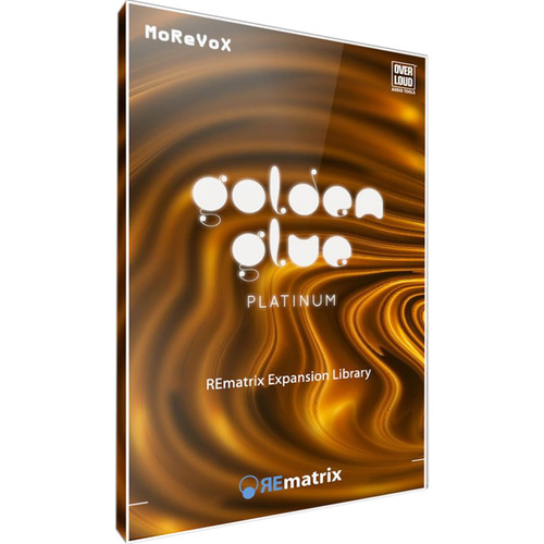 Overloud GoldenGlue Platinum - Expansion Library for REmatrix Convolution Reverb (Download)