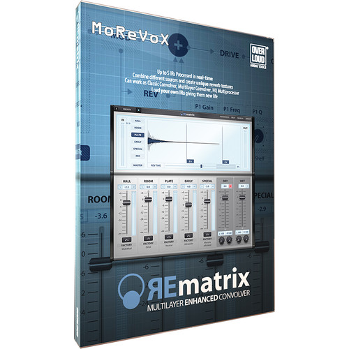 Overloud Factory for REmatrix - Convolution Reverb Player and Impulse Responses (Download)