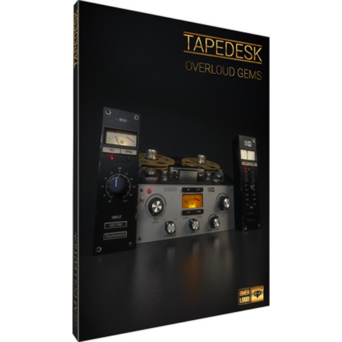 """Overloud TAPEDESK Console and 2"""" 24-Track Tape Emulation Plug-In (Download)"""