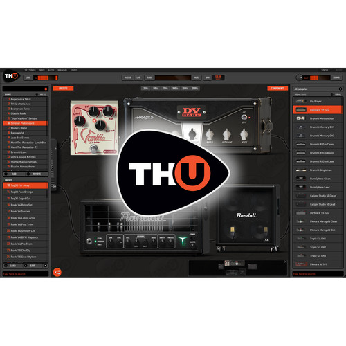 Overloud TH3 - Amplifier Modeling Software (Download)