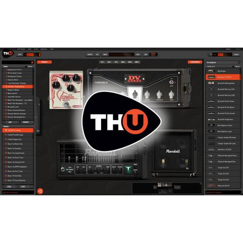 Overloud TH-U Upgrade - Amplifier Modeling Software (Download)