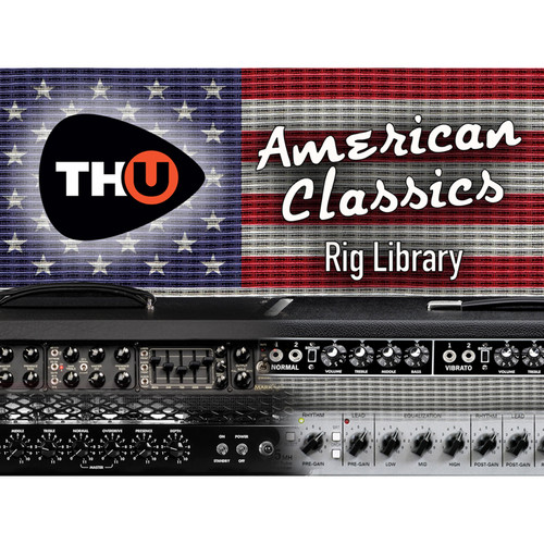 Overloud American Classics Expansion Library for TH-U (Download)
