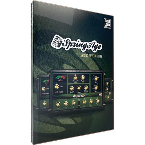 Overloud SpringAge Spring Reverb Plug-In