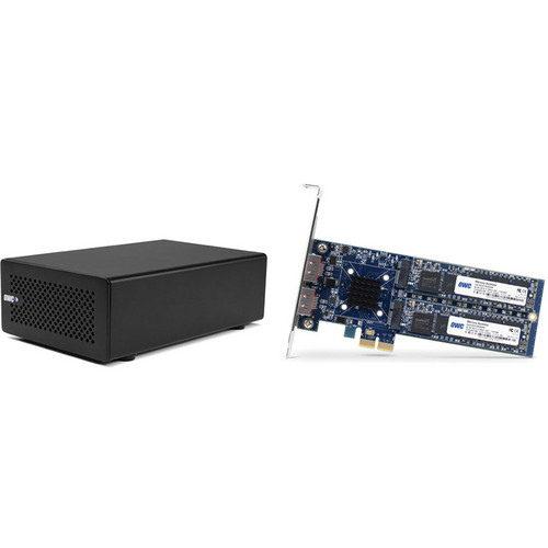OWC / Other World Computing 480GB Mercury Accelsior_E2 PCIe SSD Card & Thunderbolt Chassis Kit