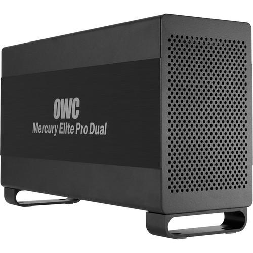 OWC / Other World Computing 4TB (2 x 2TB) Mercury Elite Pro Dual RAID Enclosure Kit