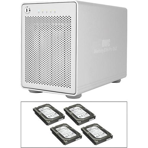 OWC / Other World Computing 12TB Mercury Elite Pro Qx2 RAID Solution Kit (4 x 3TB)