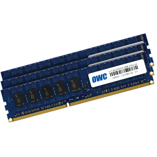 OWC 24GB DDR3 1333 MHz UDIMM Memory Kit (3 x 8GB, 2009-2012 Mac Pro)