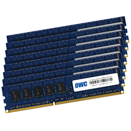 OWC / Other World Computing 64GB DDR3 1333 MHz UDIMM Memory Kit (8 x 8GB, 2009-2012 Mac Pro)