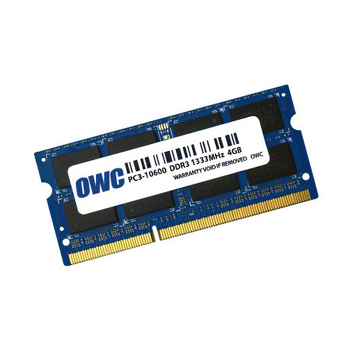 OWC / Other World Computing 4GB DDR3 1333 MHz SO-DIMM Memory Module (Bulk Packaging)