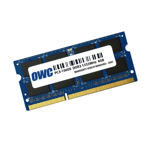 OWC / Other World Computing 4GB DDR3 1333 MHz SO-DIMM Memory Module (8 x 512 MB)