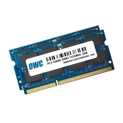 OWC 4GB DDR3 1333 MHz SO-DIMM Memory Kit (2 x 2GB, Mac)