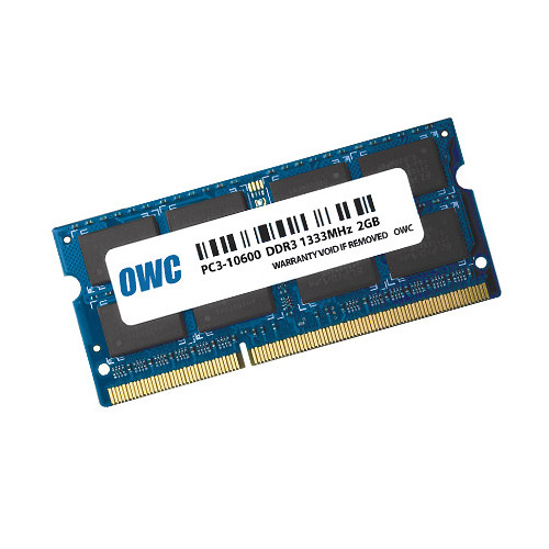 OWC / Other World Computing 2GB DDR3 1333 MHz SO-DIMM Memory Module (Single-Piece Retail Packaging)