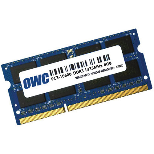 OWC / Other World Computing 4GB DDR3 1333 MHz SO-DIMM Memory Module