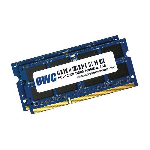 OWC / Other World Computing 8GB DDR3L 1600 MHz SO-DIMM Memory Kit (2 x 4GB, Mac)
