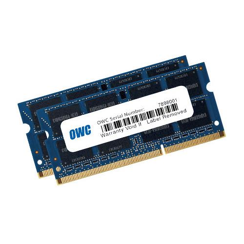 OWC / Other World Computing 12GB DDR3L 1600 MHz SO-DIMM Memory Kit (1 x 8GB + 1 x 4GB, Mac)