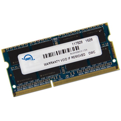 OWC / Other World Computing 16GB DDR3 1600 MHz SO-DIMM Memory Upgrade Kit (1 x 16GB)