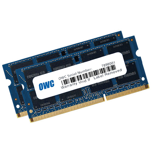 OWC / Other World Computing 16GB DDR3L 1600 MHz SO-DIMM Memory Kit (2 x 8GB, Mac)