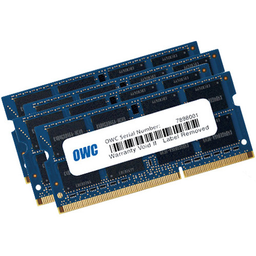 OWC / Other World Computing 32GB (4X 8Gb) PC3-12800 PC43L 1600Mhz So-Dimm 204 Pin CL11 So-Dimm Memory Upgrade Kit