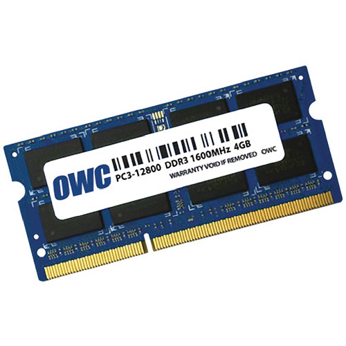 OWC / Other World Computing 4GB 204-pin SODIMM DDR3L PC3-12800 Memory Module