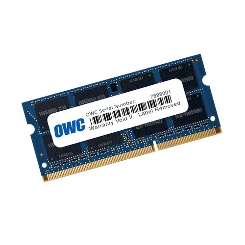 OWC / Other World Computing 8GB 204-pin SODIMM DDR3L PC3-12800 Memory Module (Single-Piece Retail Packaging)