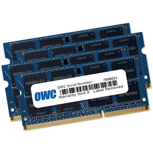 OWC 64GB DDR3 1867 MHz SO-DIMM Memory Kit (4 x 16GB, Late 2015 iMac Retina 5K)