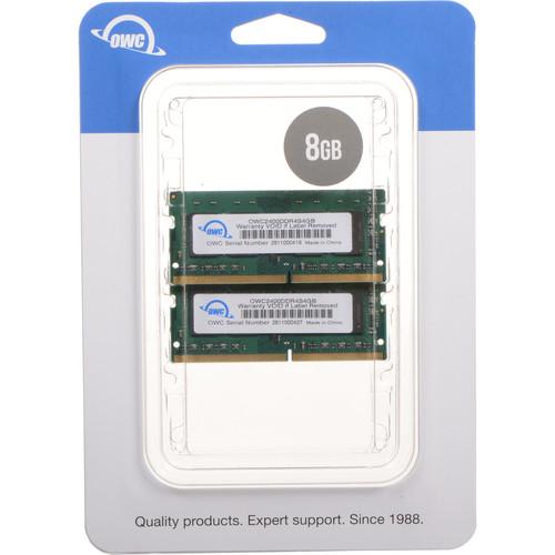 OWC / Other World Computing 8GB DDR4 2400 MHz SODIMM Memory Upgrade Kit (2 x 4GB)