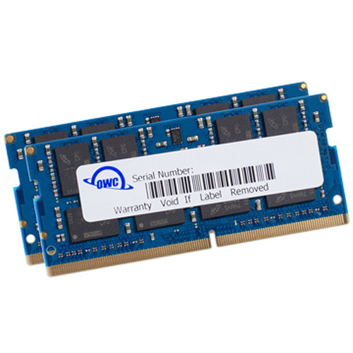 OWC 64GB DDR4 2666 MHz SO-DIMM Memory Upgrade (2 x 32GB)