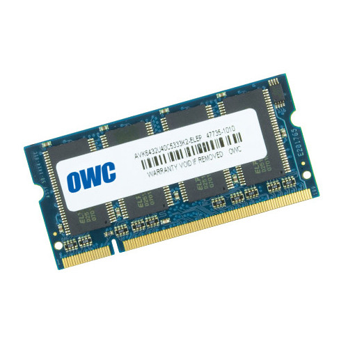 OWC / Other World Computing 1GB DDR 333MHz SO-DIMM Memory Module (Mac)