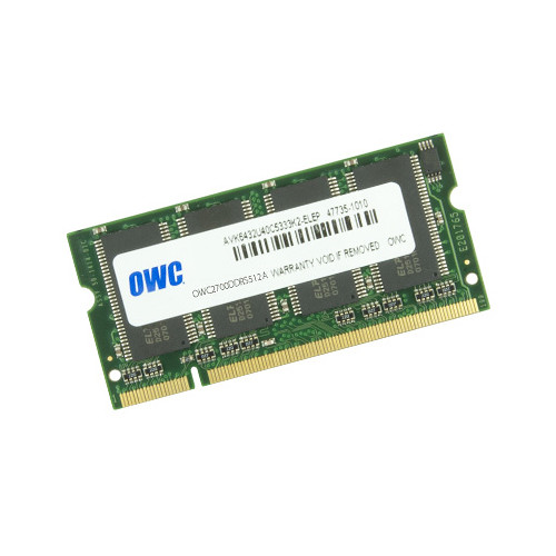 OWC / Other World Computing 512MB DDR 333 MHz SO-DIMM Memory Module