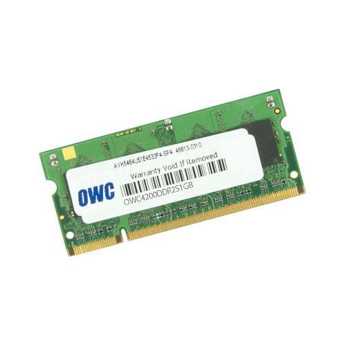 OWC / Other World Computing 1GB DDR2 533MHz SO-DIMM Memory Module (Bulk Packaging)