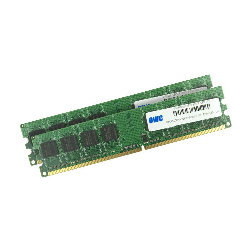 OWC / Other World Computing 4GB DDR2 533 MHz DIMM Memory Module Kit (2 x 2GB, Mac)