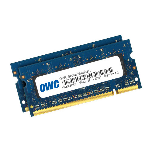 OWC / Other World Computing 6GB DDR2 800 MHz SO-DIMM Memory Kit (1 x 2GB and 1 x 4GB)