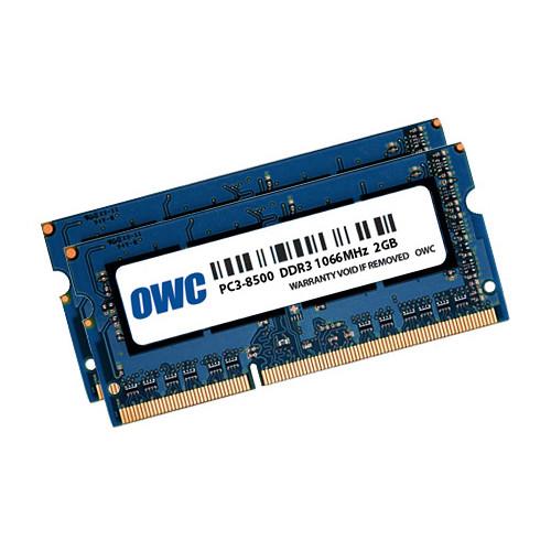 OWC 4GB DDR3 1066 MHz SO-DIMM Memory Kit (2 x 2GB,Mac)