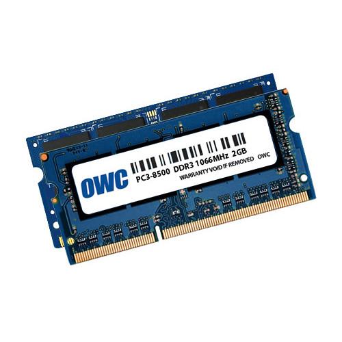 OWC / Other World Computing 6GB DDR3 1066 MHz SO-DIMM Memory Kit (2GB + 4GB,Mac)
