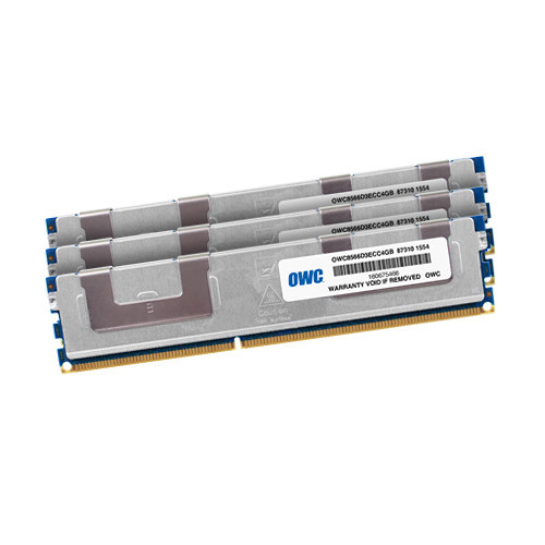 OWC / Other World Computing 12GB DDR3 1066 MHz DIMM Memory Kit (3 x 4GB, Mac)