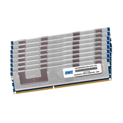 OWC / Other World Computing 32GB DDR3 1066 MHz DIMM Memory Kit (8 x 4GB, Mac)