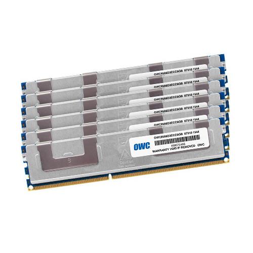 OWC / Other World Computing 48GB DDR3 1066 MHz UDIMM Memory Kit (6 x 8GB, Mac)