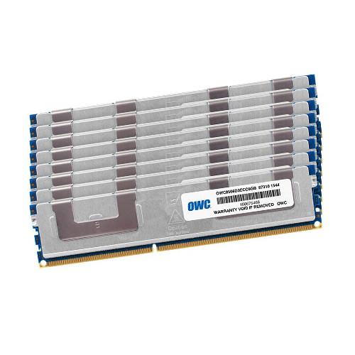 OWC / Other World Computing 64GB DDR3 1066 MHz UDIMM Memory Kit (8 x 8GB, 2009-2010 Mac Pro)