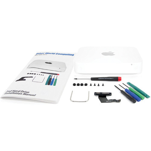"OWC / Other World Computing Data Doubler SSD/2.5"" Hard Drive Installation Kit for Mac mini 2011 & 2012 (Lower Drive Bay Configuration, Tools Included)"