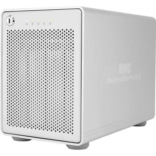 OWC / Other World Computing Mercury Elite Pro Qx2 12TB (4 x 3TB) Four-Bay USB 3.0 RAID Array (Enterprise Edition)