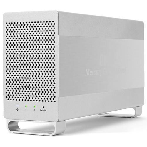 OWC Mercury Elite Pro Dual 2TB 2-Bay USB 3.0 RAID Array (2 x 1TB)