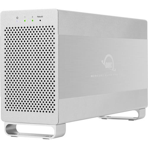 OWC / Other World Computing Mercury Elite Pro Dual 24TB 2-Bay USB 3.1/FireWire RAID Array (2 x 12TB)