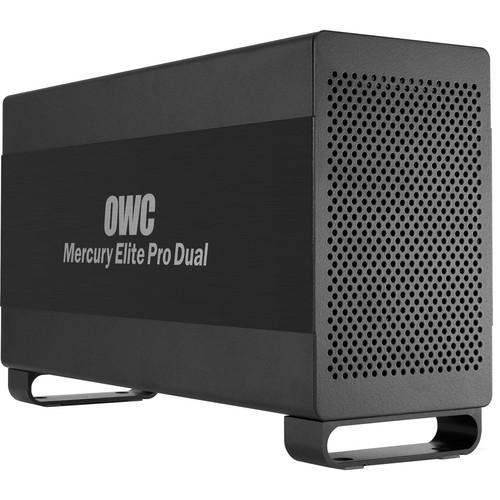 OWC / Other World Computing Mercury Elite Pro Dual 6TB 2-Bay Thunderbolt RAID Array (2 x 3TB)