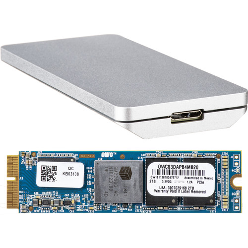 OWC / Other World Computing Aura Pro X 2TB SSD Upgrade Solution for Mac Pro (Late 2013)