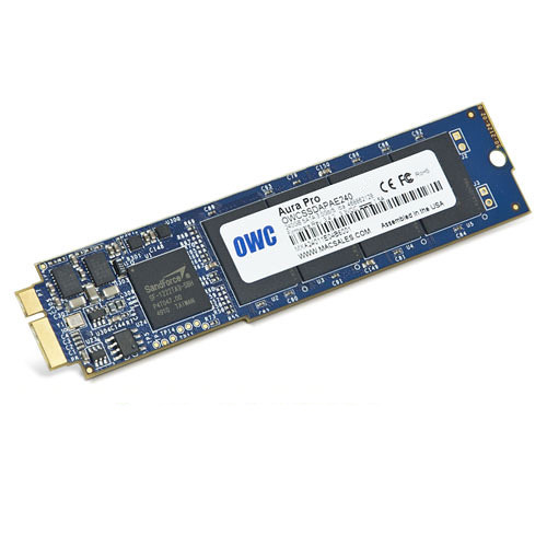 OWC / Other World Computing 480GB Aura 6G mSATA SSD for MacBook Air 2010-11 Edition