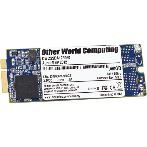 OWC / Other World Computing 1TB Aura 6G Internal SSD for MacBook Pro with Retina Display (2012-Early 2013)