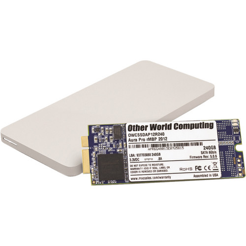 OWC / Other World Computing 240GB Aura Pro 6G Solid State Drive & Envoy Pro Storage Solution