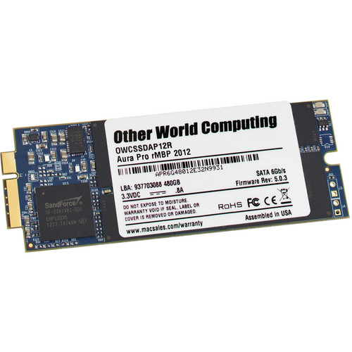 OWC / Other World Computing 240GB Aura Pro 6G SSD for MacBook Pro 2012-2013 with Retina Display